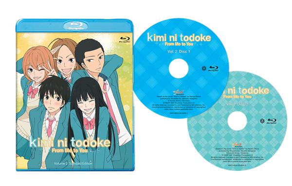 Kimi ni Todoke From Me To You Set 2 Blu-ray