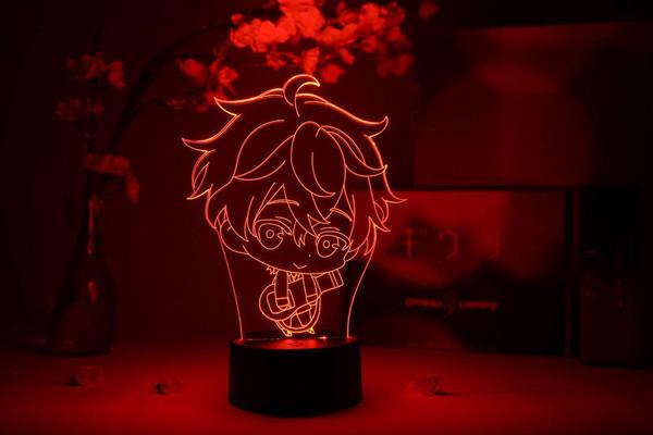 Mafuyu Sato Chibi Given Otaku Lamp
