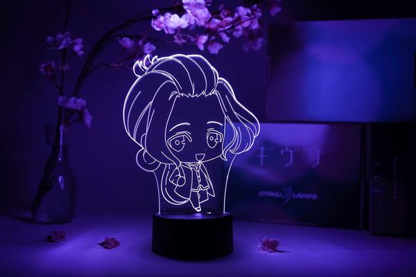 Haruki Nakayama Chibi Given Otaku Lamp
