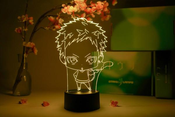 Akihiko Kaji Chibi Given Otaku Lamp