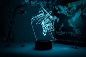 Eren Yeager Action Pose Attack on Titan Otaku Lamp