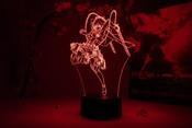 Mikasa Ackerman Action Pose Attack on Titan Otaku Lamp