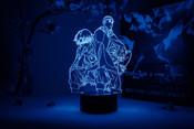 Levi and Erwin Smith Attack on Titan Otaku Lamp