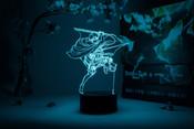 Levi Spinning Attack Pose Attack on Titan Otaku Lamp