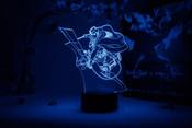 Erwin Smith Action Pose Attack on Titan Otaku Lamp