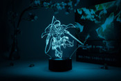 Jean Kirstein Action Pose Attack on Titan Otaku Lamp