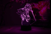 Sasha Blouse Action Pose Attack on Titan Otaku Lamp