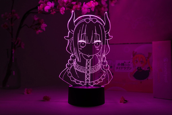 Kanna Kamui Bust Miss Kobayashi's Dragon Maid Otaku Lamp