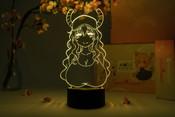 Lucoa Bust Miss Kobayashi's Dragon Maid Otaku Lamp