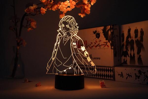 """""""Mikey"""" Manjiro Sano Tokyo Revengers Otaku Lamp"""