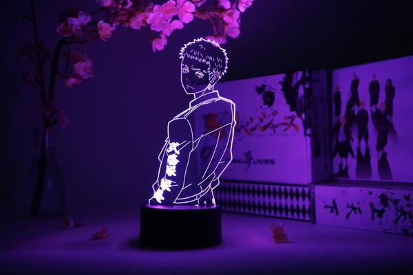 Takashi Mitsuya Tokyo Revengers Otaku Lamp