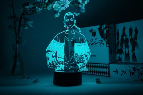 """""""Draken"""" Ken Ryuguji Tokyo Revengers Otaku Lamp"""