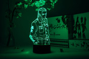 """Draken"" Ken Ryuguji with Hands in Pockets Tokyo Revengers Otaku Lamp"