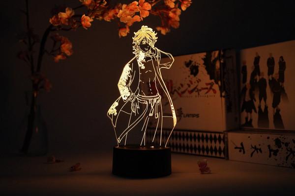 Kazutora Hanemiya Tokyo Revengers Otaku Lamp
