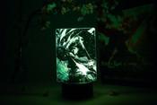 Levi Portrait Attack on Titan Otaku Lamp