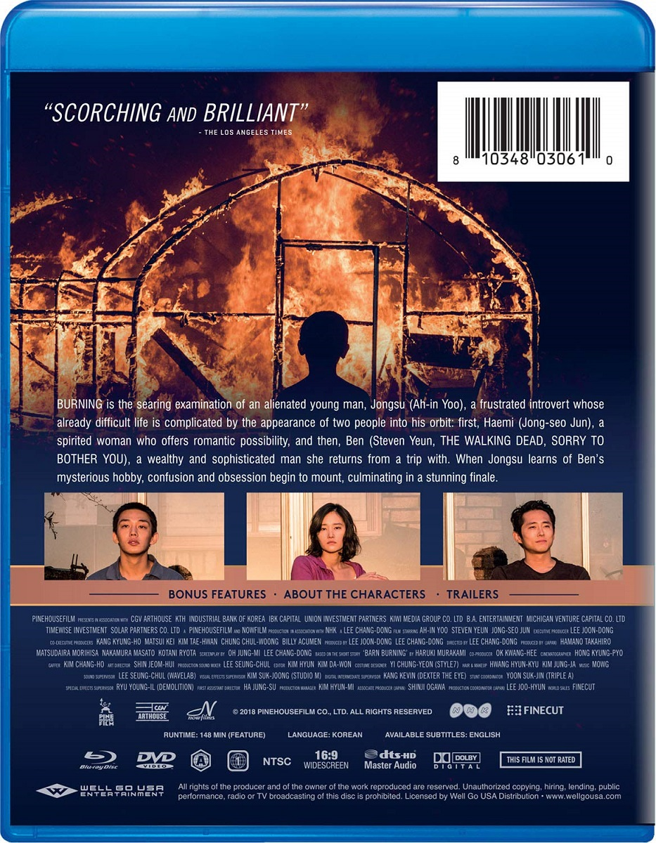 Burning Blu-ray/DVD