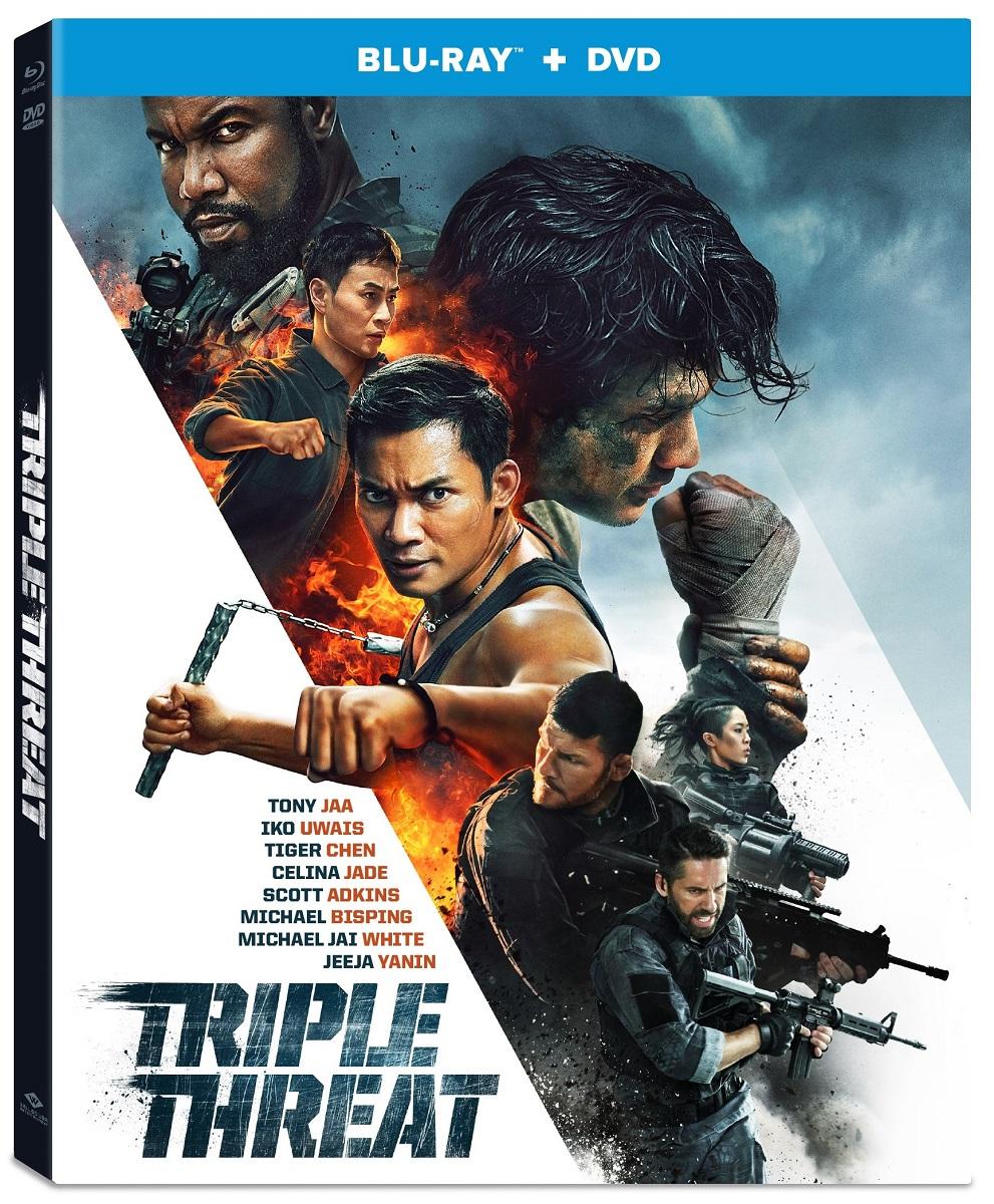 Triple Threat Blu-ray/DVD