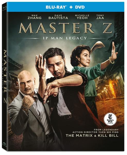 Master Z Ip Man Legacy Blu-ray/DVD