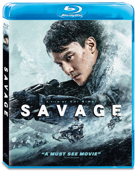 Savage Blu-ray