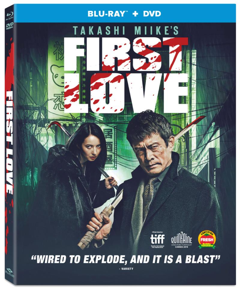 First Love Blu-ray/DVD
