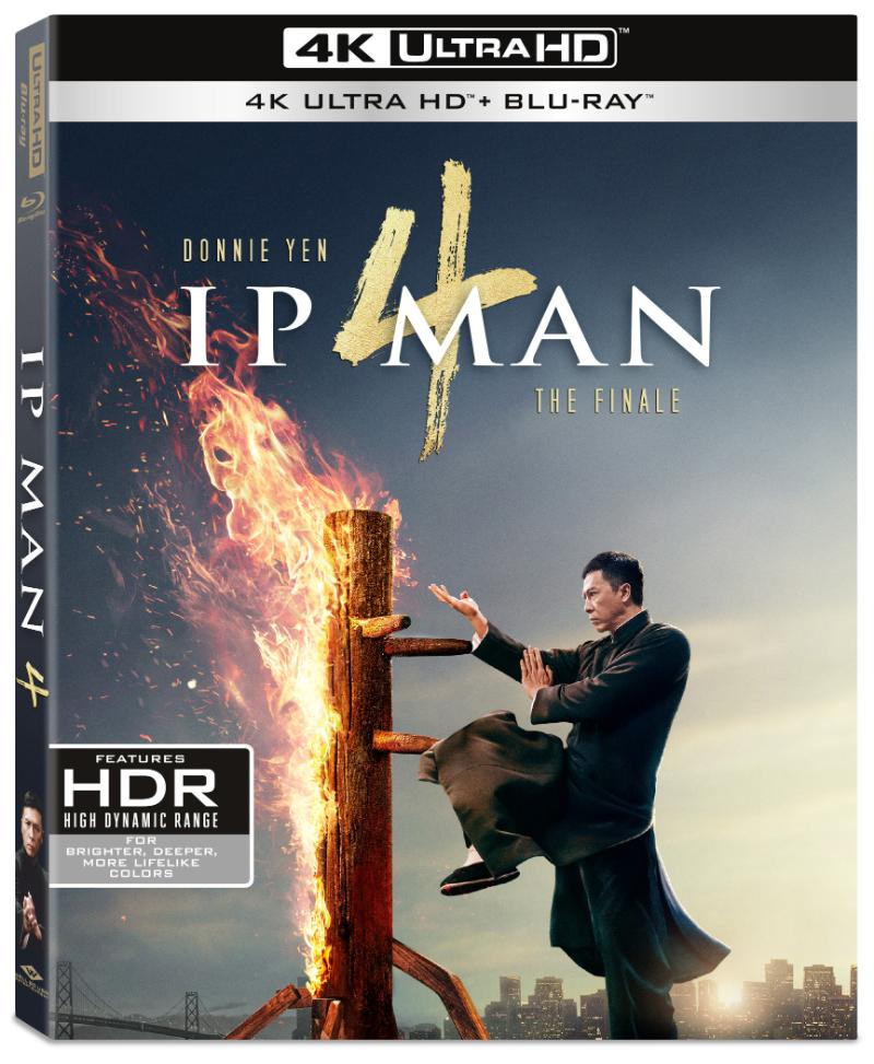 Ip Man 4 The Finale 4K HDR/2K Blu-ray