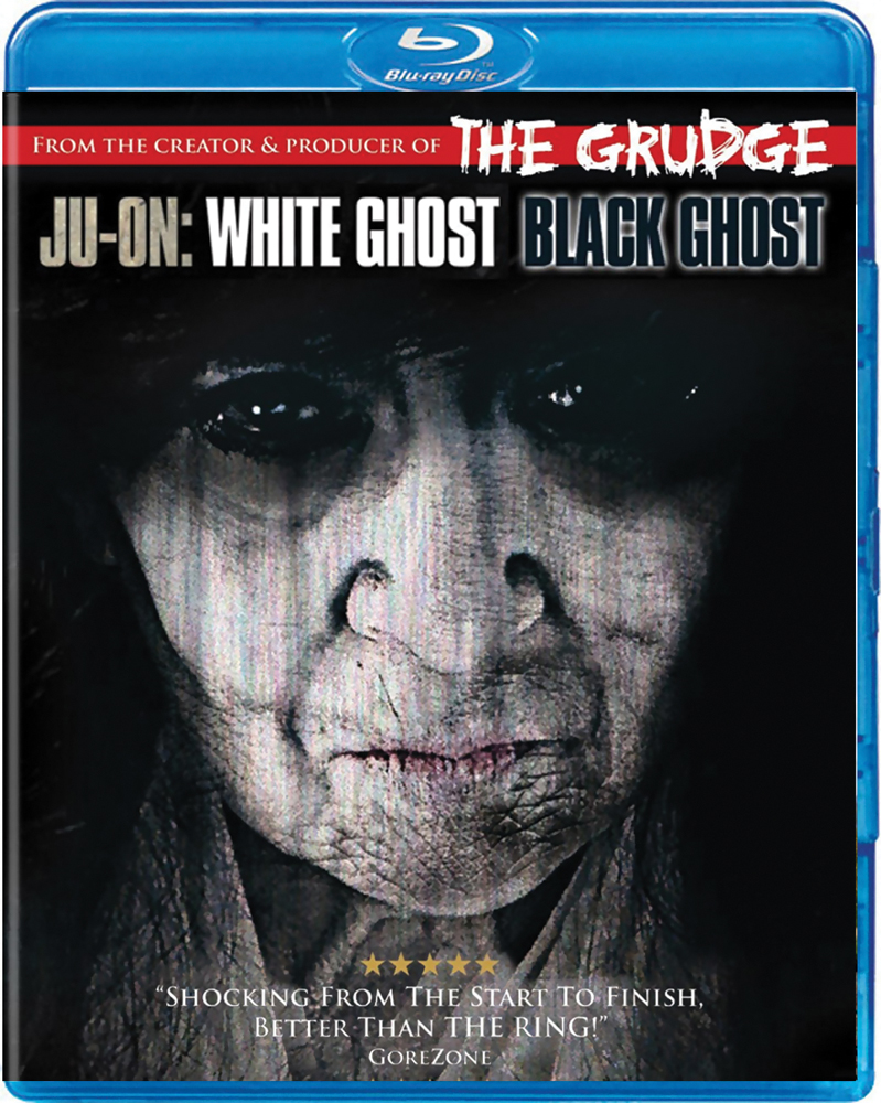 Ju-On: White Ghost / Black Ghost Blu-ray 812491012215
