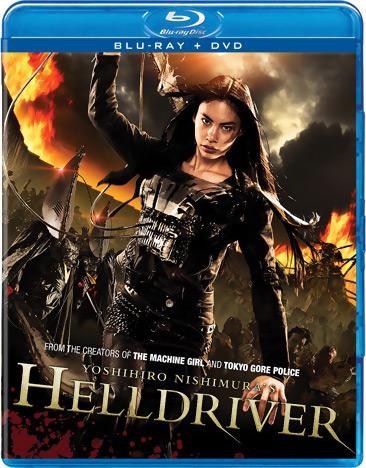 Helldriver Blu-ray/DVD 812491012512
