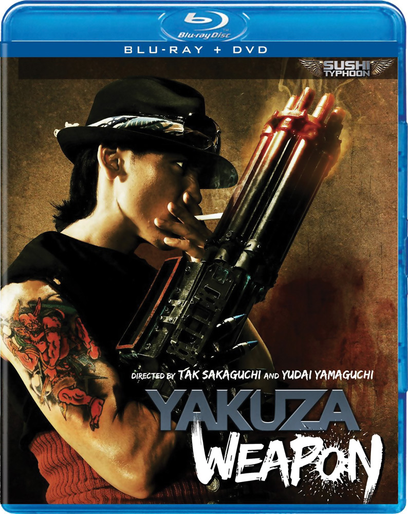 Yakuza Weapon Blu-ray/DVD 812491012666