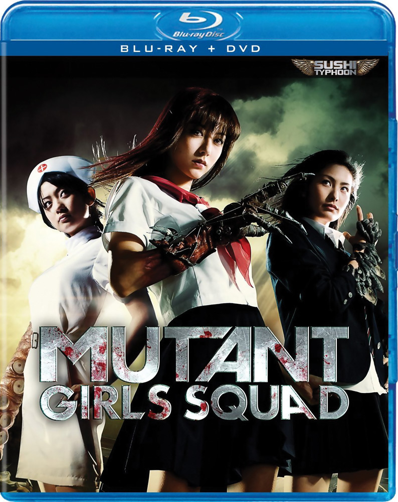 Mutant Girls Squad Blu-ray/DVD 812491013069