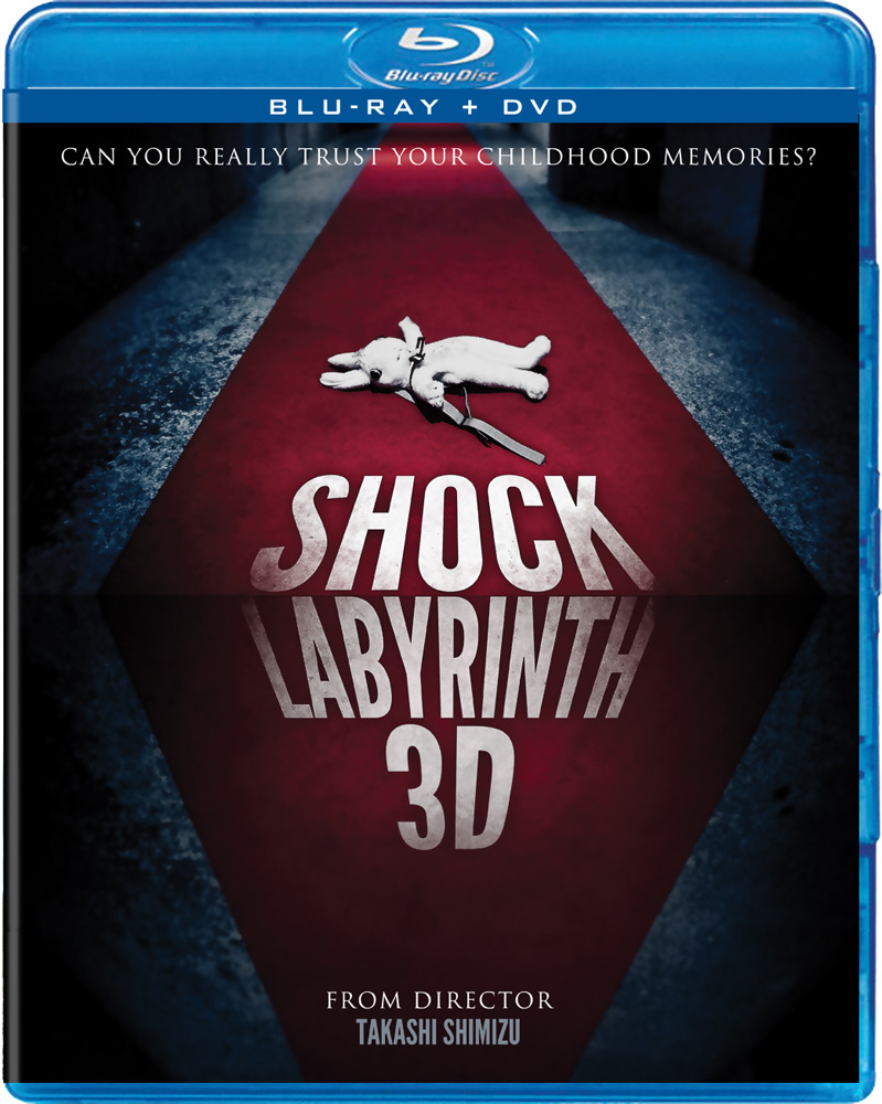 Shock Labyrinth 3D Blu-ray/DVD 812491013120