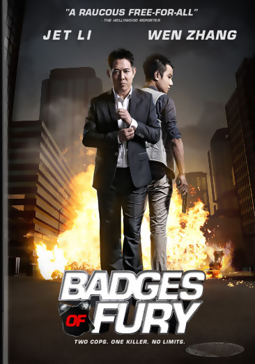 Badges of Fury DVD 812491014424