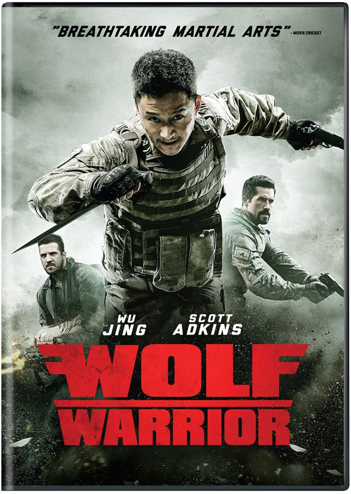 Wolf Warrior DVD 812491016398