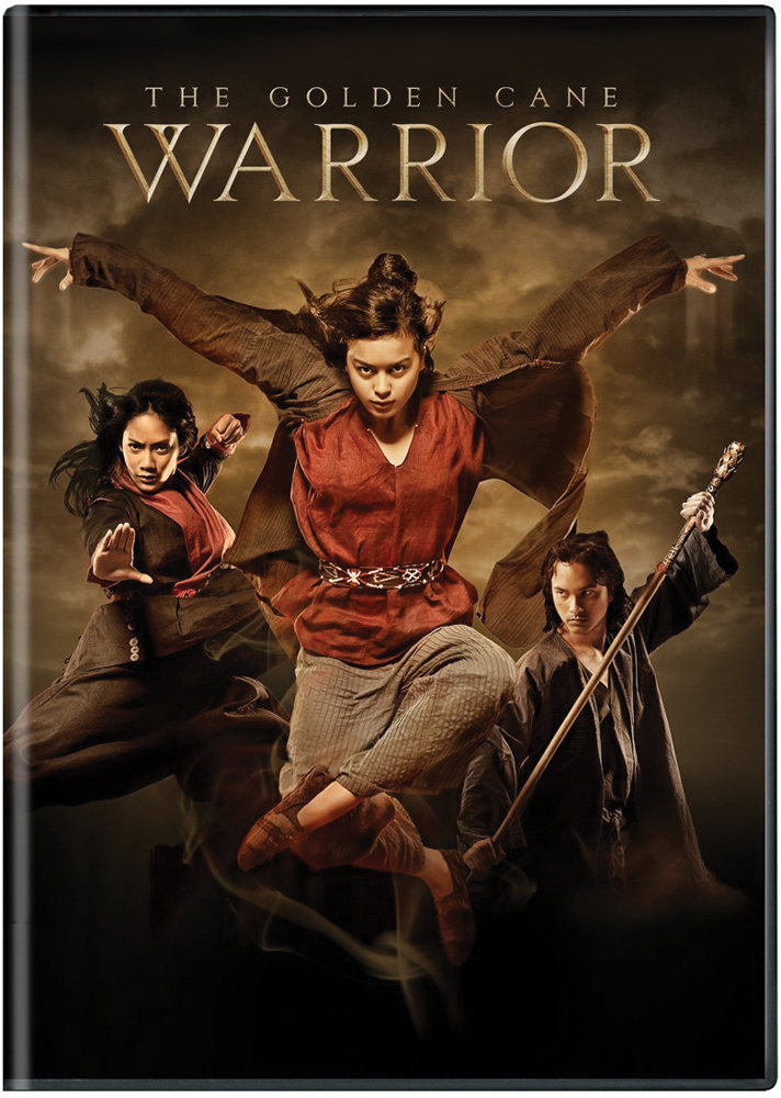 The Golden Cane Warrior DVD 812491016510