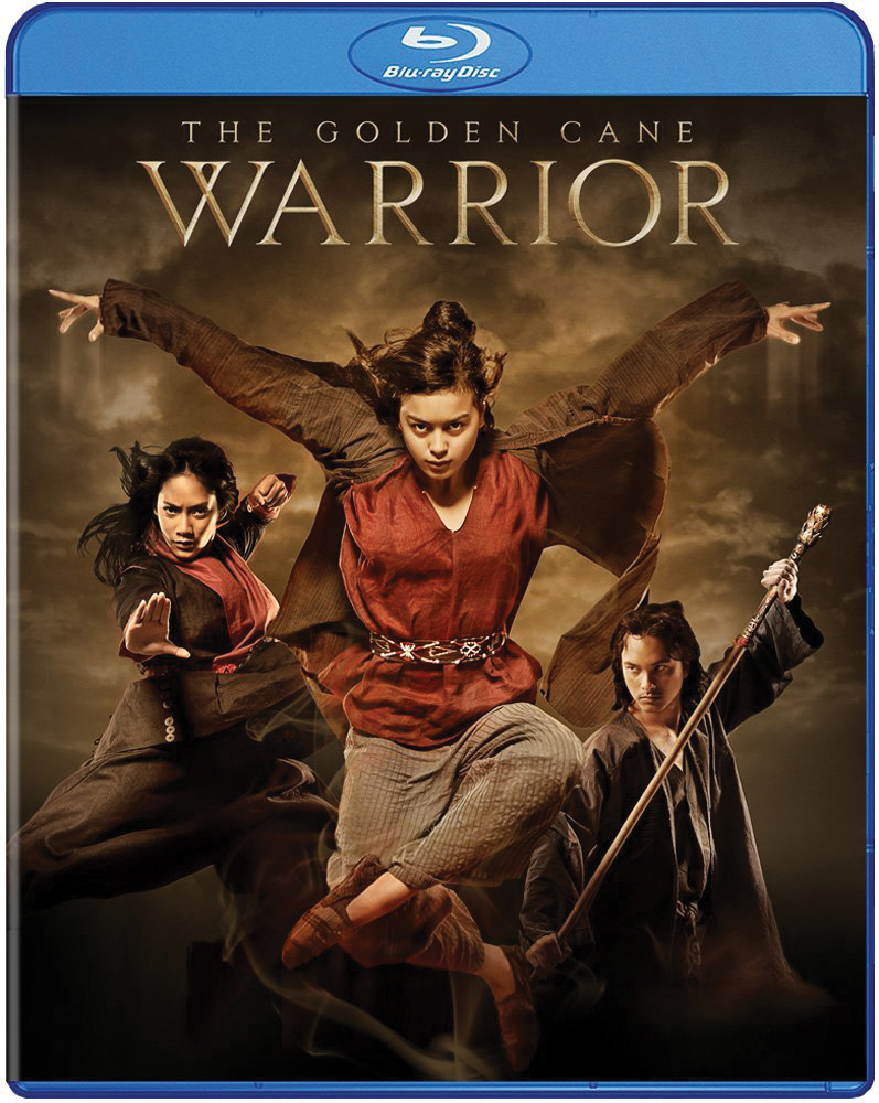 The Golden Cane Warrior Blu-ray 812491016527