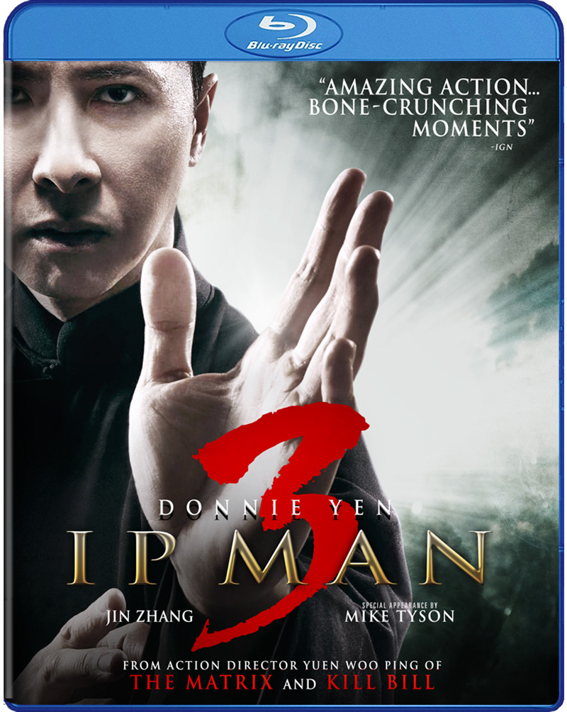 Ip Man 3 Blu-ray 812491016800