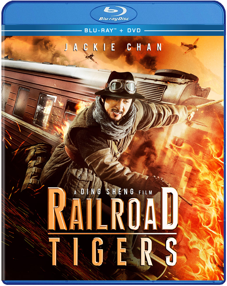 Railroad Tigers Blu-ray/DVD 812491018170