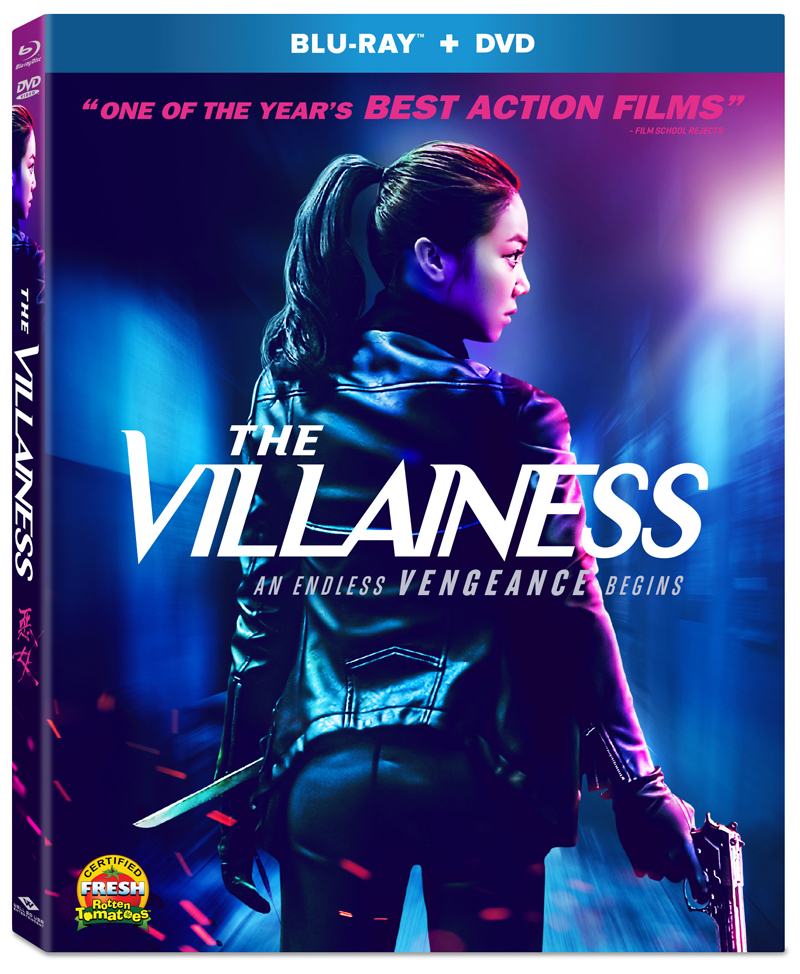 The Villainess Blu-ray/DVD 812491018989