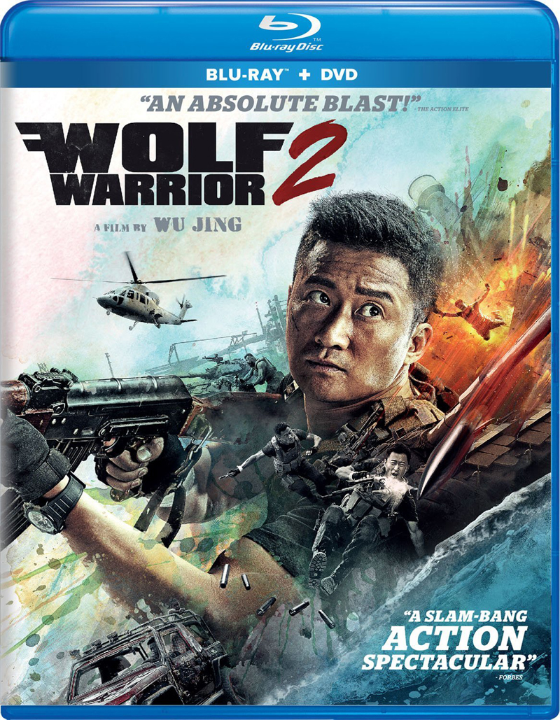 Wolf Warrior 2 Blu-ray/DVD 812491019184