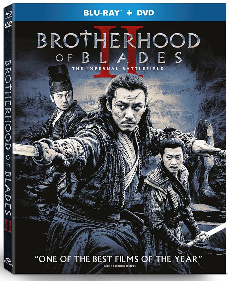 Brotherhood of Blades 2 Blu-ray/DVD 812491019375