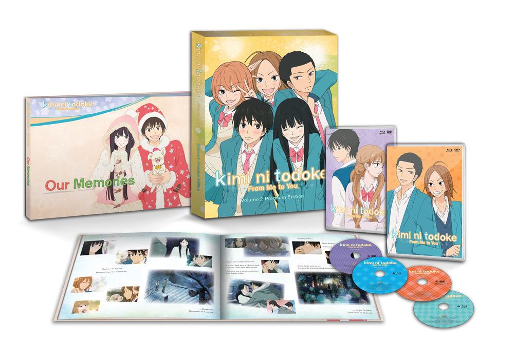 Kimi Ni Todoke From Me to You Set 2 Blu-ray/DVD Premium Edition 813633011479