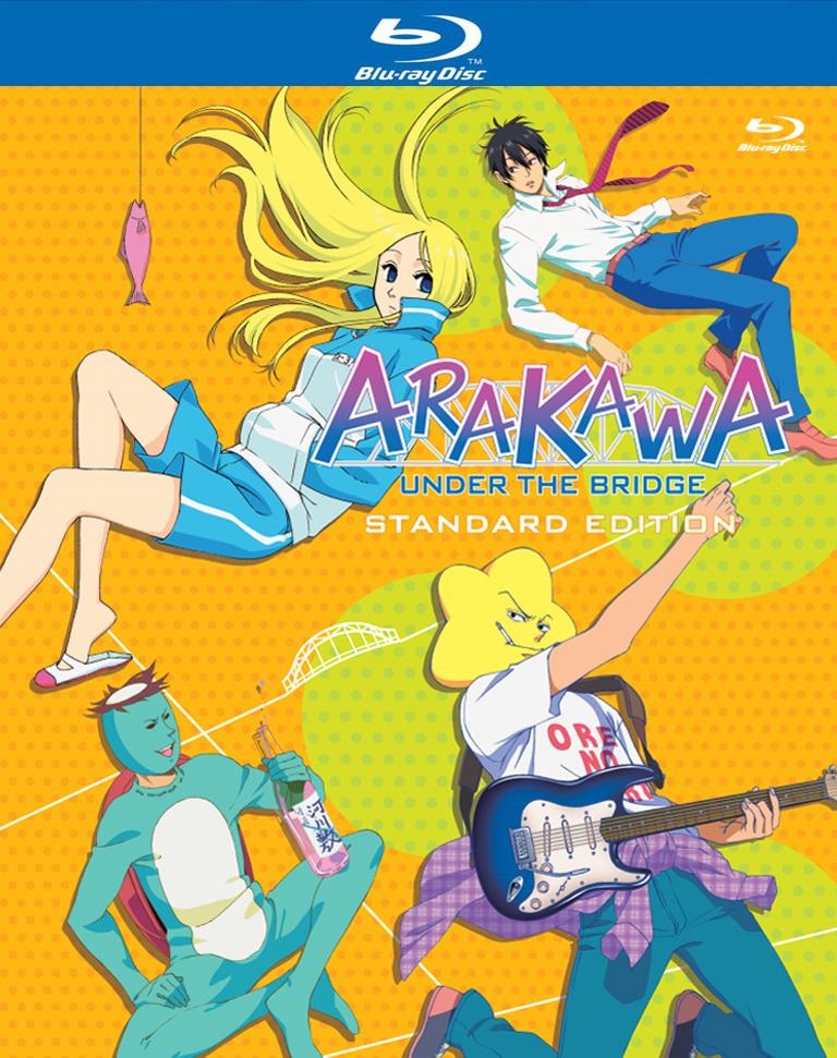 Arakawa Under the Bridge Season 1 Blu-ray 813633012544