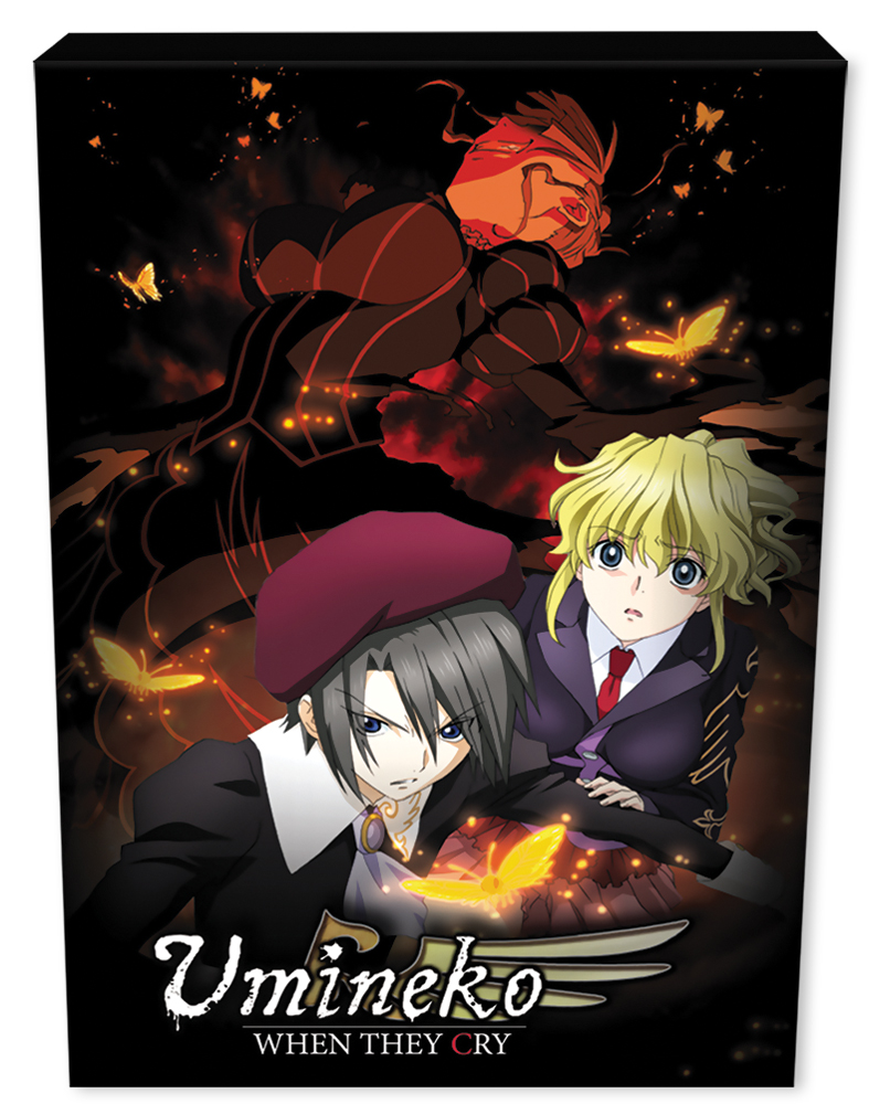 Umineko When They Cry Part 2 Premium Edition Blu-ray 813633012568