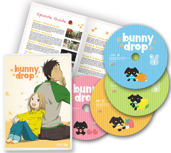 Bunny Drop Blu-ray/DVD Complete Series