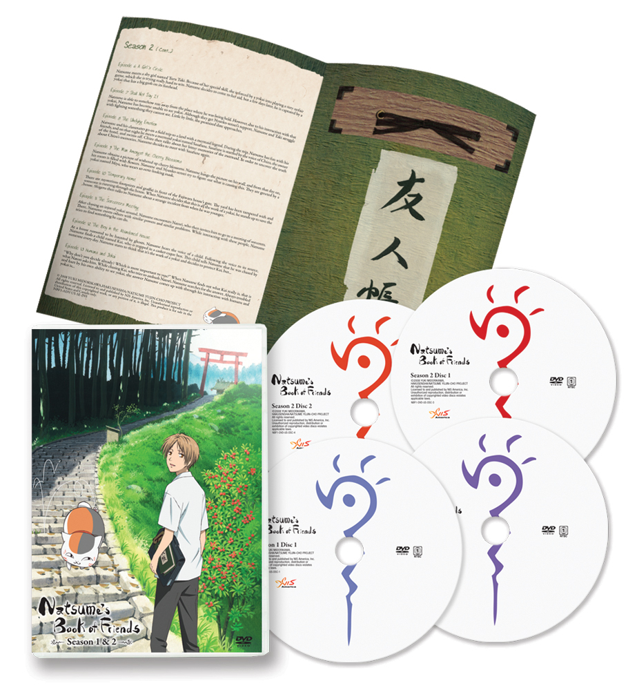Natsume's Book of Friends Seasons 1-2 DVD