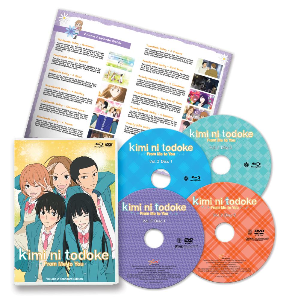 Kimi ni Todoke From Me to You Set 2 Blu-ray/DVD