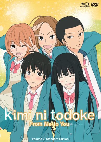 Kimi ni Todoke From Me to You Set 2 Blu-ray/DVD 813633013534