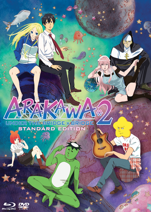 Arakawa Under the Bridge Season 2 Blu-ray/DVD 813633013794