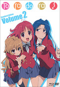 Toradora Set 2 Blu-ray/DVD