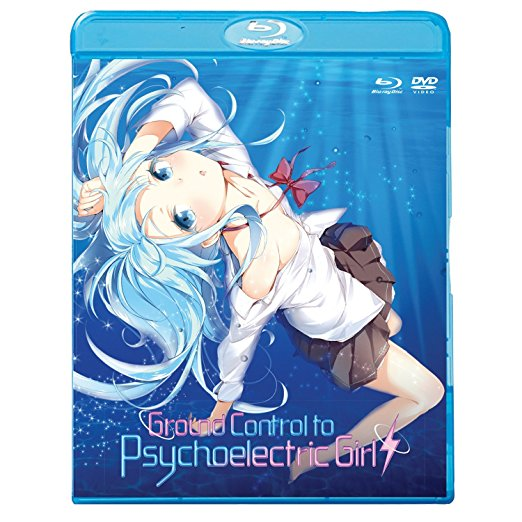 Ground Control to Psychoelectric Girl Blu-ray/DVD 813633014852