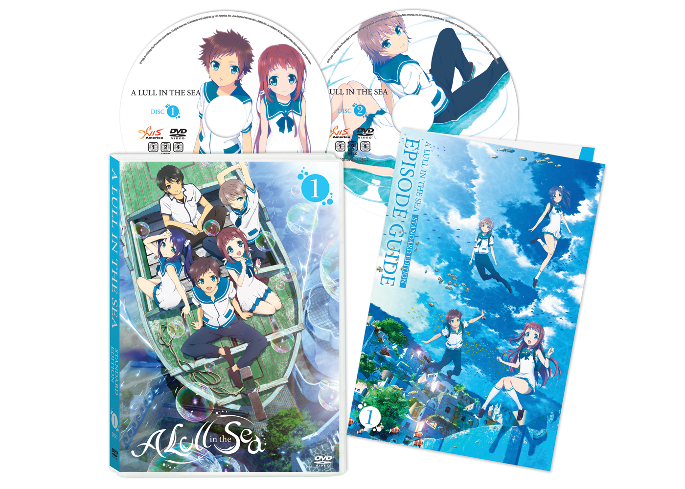 A Lull in the Sea DVD 1 Alt